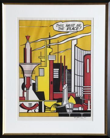 オフセット Lichtenstein - This Must Be the Place (C. III.20)