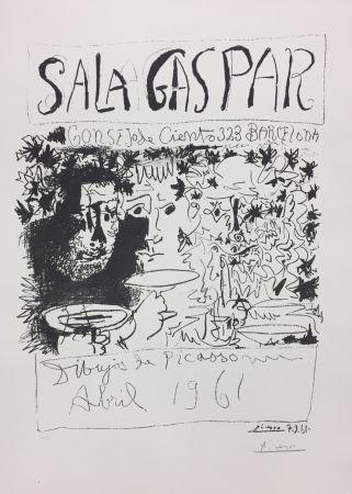 リトグラフ Picasso - Three Drinkers