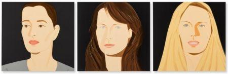 リトグラフ Katz - Three Portraits (Sarah, Vivien, Sophia)