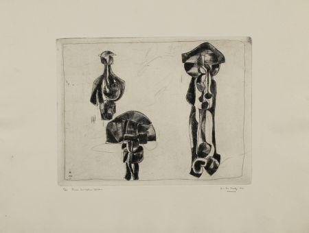彫版 Hadzi - Three Sculpture Studies