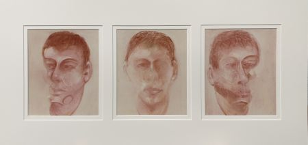 リトグラフ Bacon - Three studies for a portrait of John Edwards
