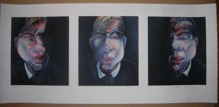 リトグラフ Bacon - Three studies for a Self-Portrait