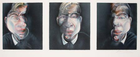 リトグラフ Bacon - Three studies for a Self-portrait, 1981