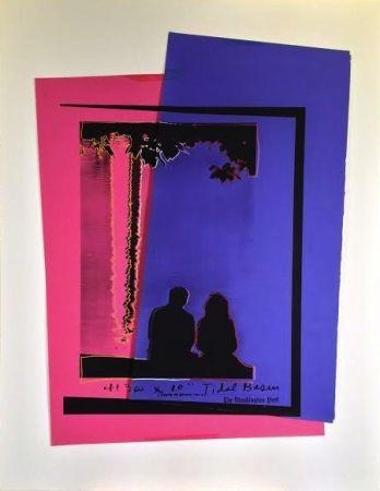 シルクスクリーン Warhol - Tidal Basin-Washington Post