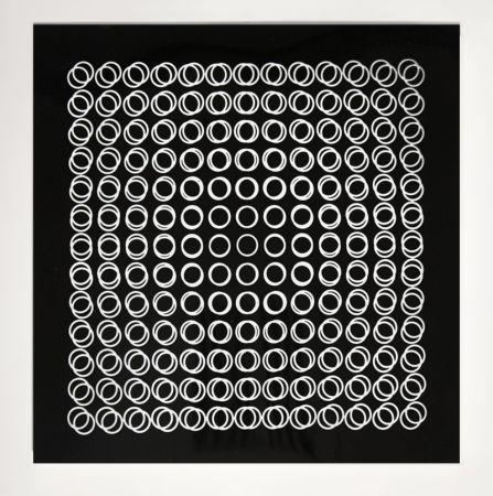 シルクスクリーン Vasarely - '' TIEFENBILDER ''