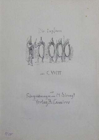 リトグラフ Slevogt - Titel