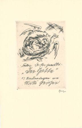 彫版 Geiger - Title-page of