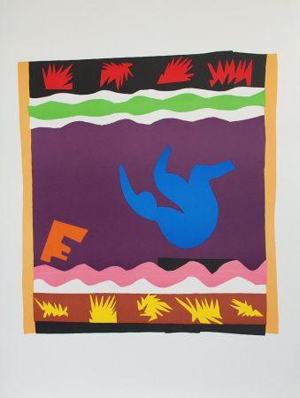 Collograph Matisse - Toboggan