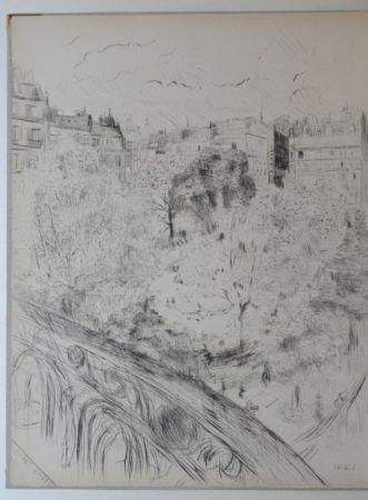 エッチングと アクチアント Vuillard  - Tombeau de Edouard Vuillard