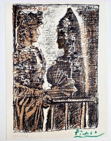 リトグラフ Picasso - Torero y Señorita