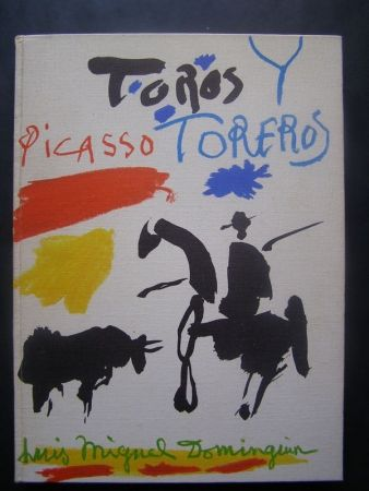 挿絵入り本 Picasso - TOROS Y TOREROS 1961