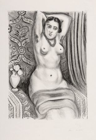 リトグラフ Matisse - Torse à l'Aiguière