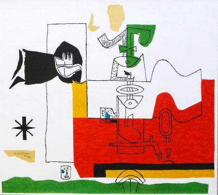 リトグラフ Le Corbusier - Totem