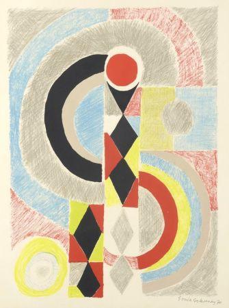 リトグラフ Delaunay - Totem