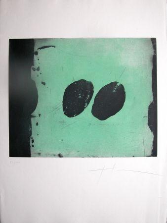 アクチアント Soulie - TOTEM VI -gravure de TONY SOULIE