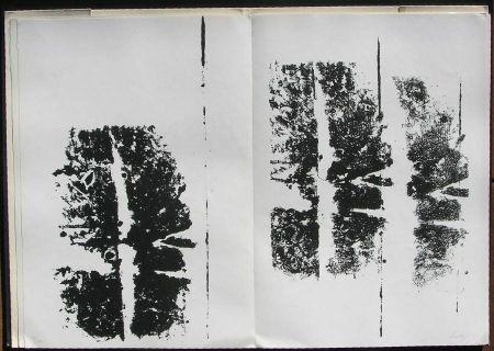 挿絵入り本 Scialoja - Toti Scialoja. Quattro litografie