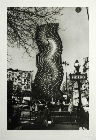 彫版 Bury - Tour Montparnasse