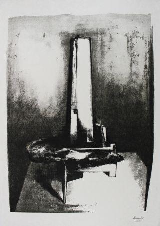 リトグラフ Butler - Tower