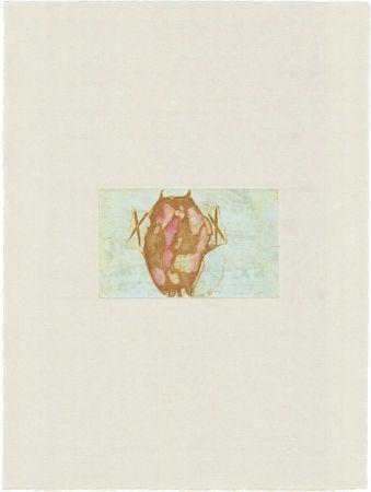 彫版 Beuys - Tränen: Schamanentrommel (grün)