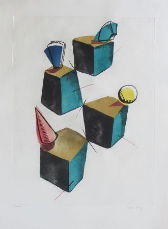 エッチングと アクチアント Ray - Transfiguration d'un cactus
