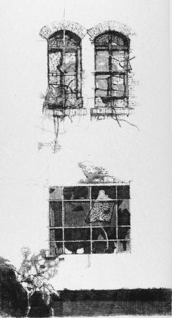 エッチング Vespignani - Tre finestre