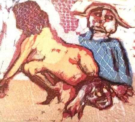 リノリウム彫版 Maccari - Tredici Incisioni