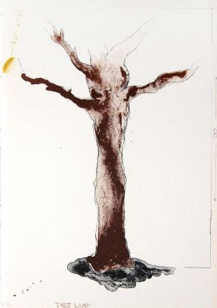 リトグラフ Dine - Tree Lamp