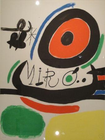リトグラフ Miró - Tres libres