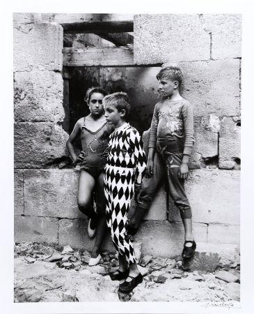 写真 Clergue - Trio de Saltimbanques, Arles