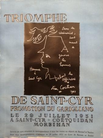 掲示 Cocteau - Triomphe de Saint Cyr - Promotion du Garigliano -
