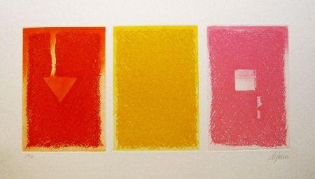 エッチングと アクチアント De Juan - Triptica en color II