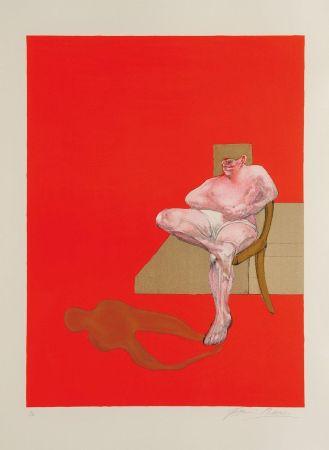 リトグラフ Bacon - Triptych 1983 right panel
