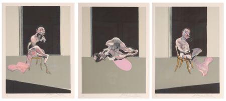 リトグラフ Bacon - Triptych August 1972