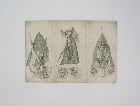 彫版 Deux - Triptyque