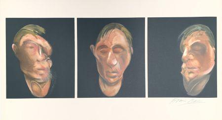 リトグラフ Bacon - Trois études pour un autoportrait