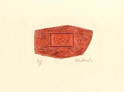 ポイントーセッシュ Alechinsky - Trois petites plaques