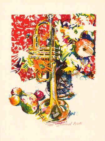 リトグラフ Buri - Trompette