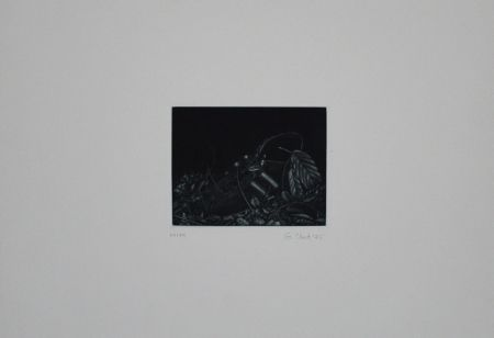 メゾチント彫法 Ebert - Turnschuh