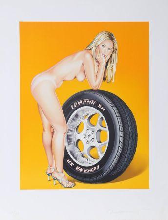 リトグラフ Ramos - Tyra Tyre