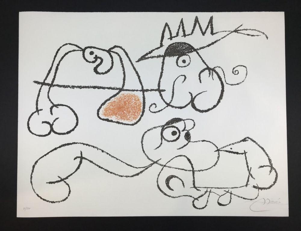 リトグラフ Miró - Ubu aux Balèares