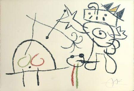 リトグラフ Miró - Ubu aux Baleares, 17