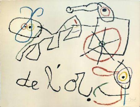 リトグラフ Miró - Ubu aux Baleares, 4