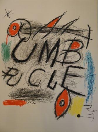 リトグラフ Miró - Umbracle