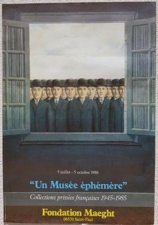 オフセット Magritte - Un Musee Ephemere