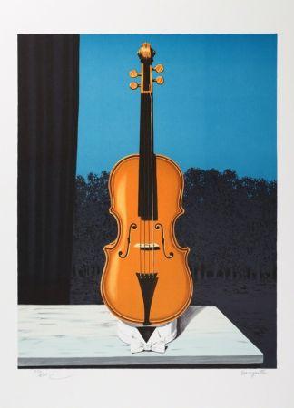 リトグラフ Magritte - Un peu de l'âme des bandits