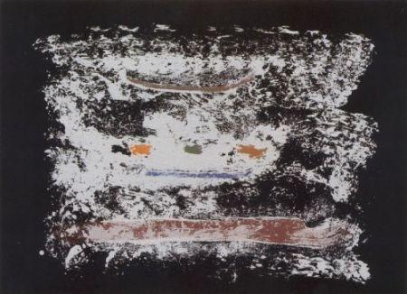 リトグラフ Frankenthaler - Un poco más