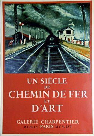 オフセット Vlaminck - Un Siecle de Chemin de Fer et D'Art  Galerie Charpentier