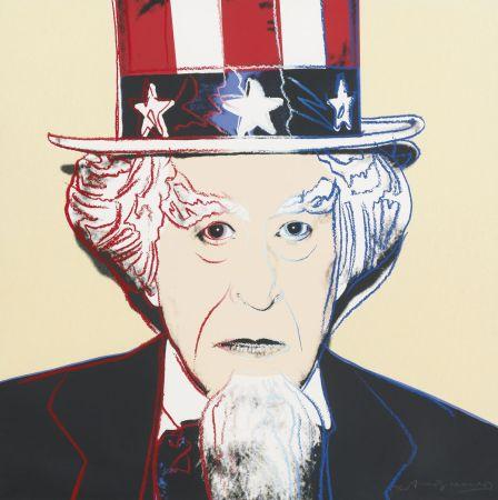 シルクスクリーン Warhol - Uncle Sam (FS II.259)