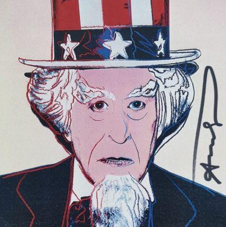 シルクスクリーン Warhol - Uncle Sam