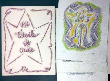 挿絵入り本 Masson - UNE ÉTOILE DE CRAIE. Seize ithographies originales signées d'André Masson
